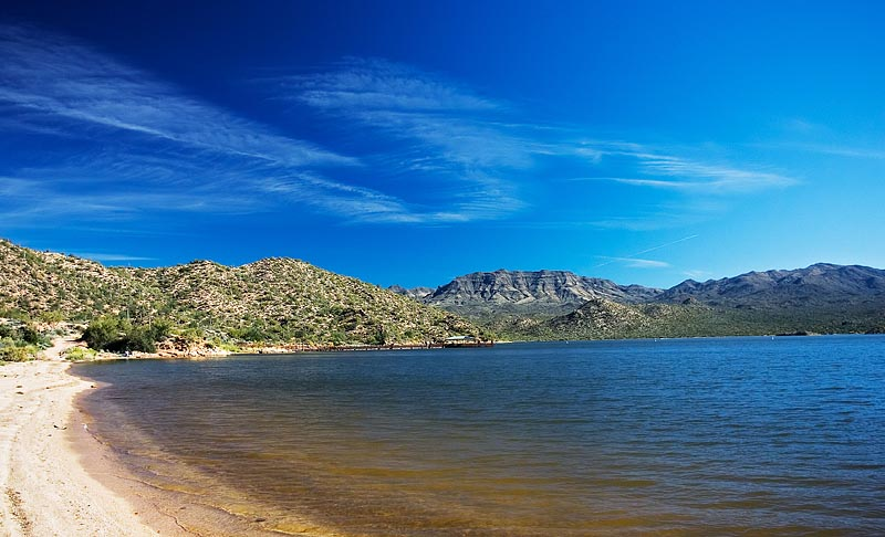 Bartlett lake and lake pleasant offer summer relief for Lake pleasant az fishing