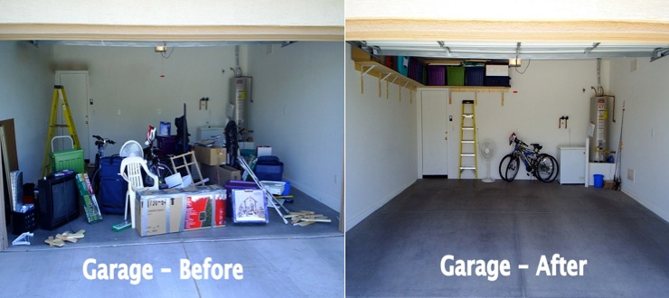 Organizing your garage this fall north phoenix family for Garage totes 76